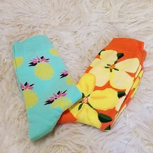 Other - Summer Socks Brushed Cotton 2 Pair